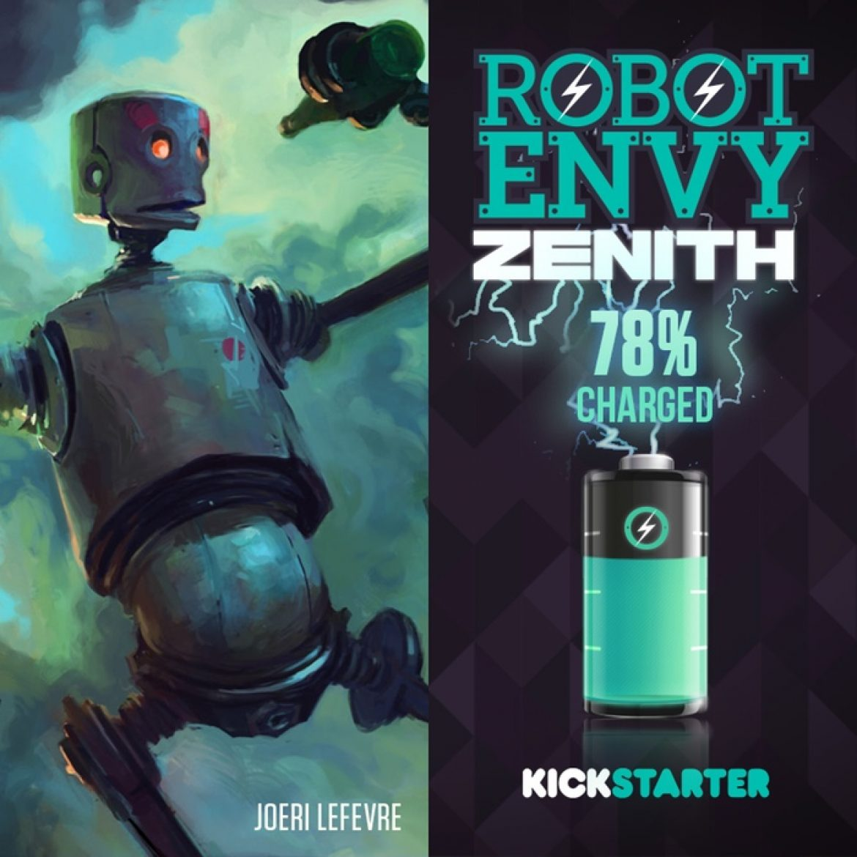 Robot Envy Book Kickstarter!