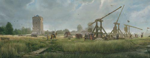 Medieval Siege Castle Nijeveld