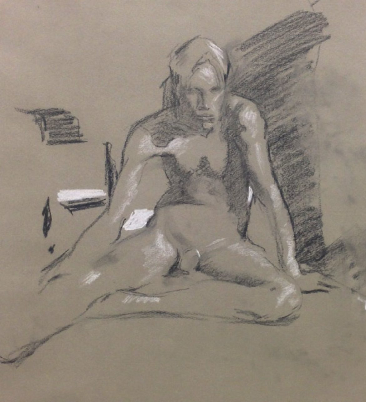 Thursday life drawing @ Atelier Westerdok